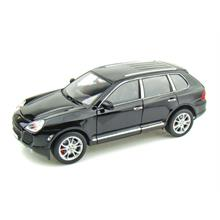 Welly 1: 18 Ölçek Siyah Model Araba Porsche Cayenne Turbo