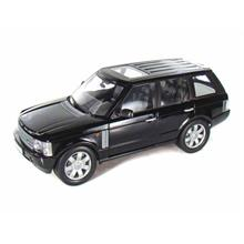 Welly 1:18 Ölçekli Model Araba 2003 Land Rover Range Rover Siyah