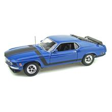 Welly 1:18 Ölçekli Model Araba 1970 Ford Mustang Boss 302 Mavi