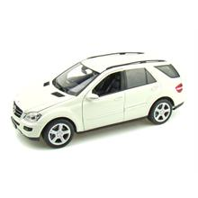 Welly 1:18 Ölçek Diecast Araba Mercedes-Benz ML350 Beyaz