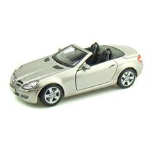 Maisto Mercedes Benz Slk Convertible Diecast Model Araba 1:18 Special Edition Gri