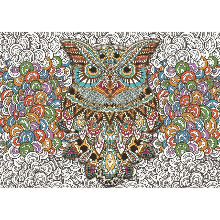 Puzz 1000 Parca Mandala Baykus