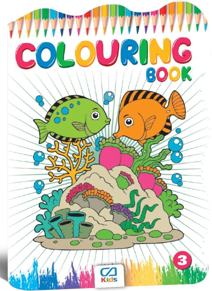 Ca Kids 1013 Deniz Alti 32 Sayfa Boyama Kitabi