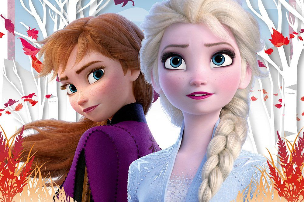 Trefl Frozen Ii Anna Ve Elsa Nin Buyulu Dunyasi 60 Parca Cocuk